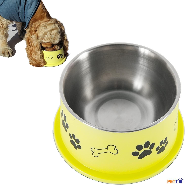 Bát thức ăn cho chó có tai dài