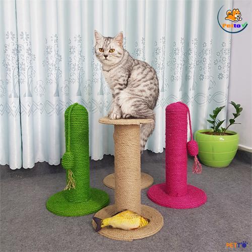 trụ cào móng cho mèo dạng thẳng đứng