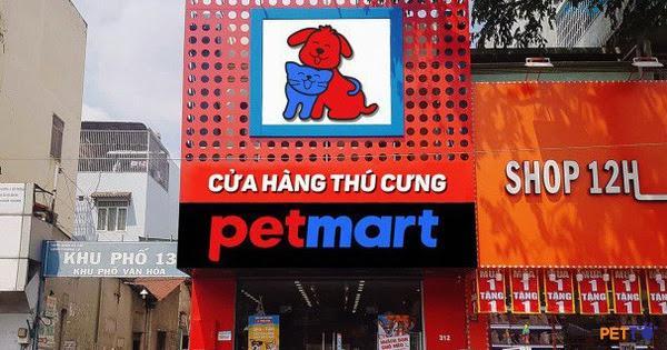 Cửa hàng thú cưng Petmart